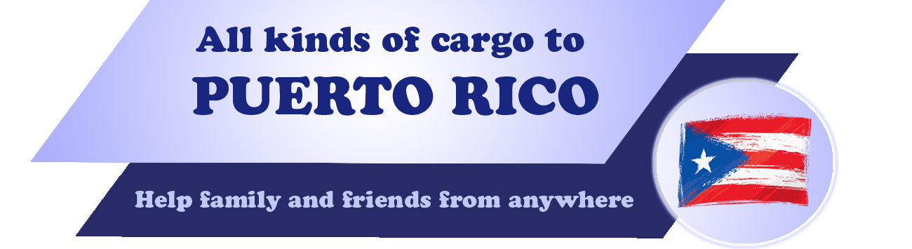 All kinds of cargo to Puerto Rico