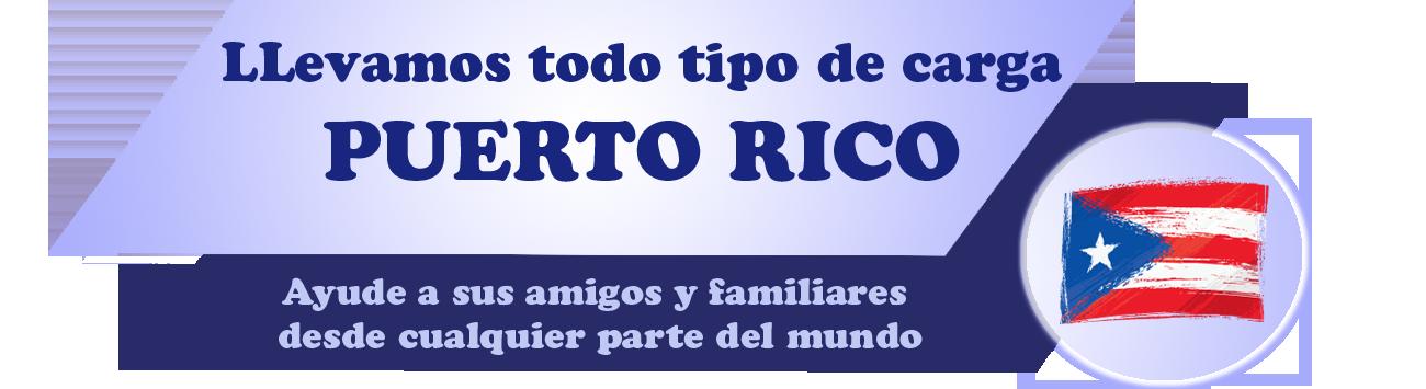 Envio de carga a Puerto Rico